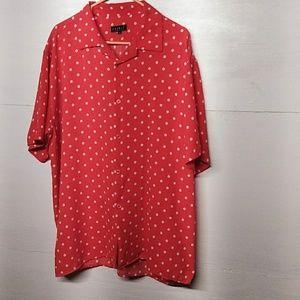 Peonti plus size blouse